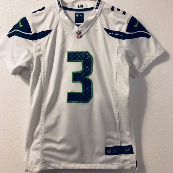 youth medium seahawks jersey
